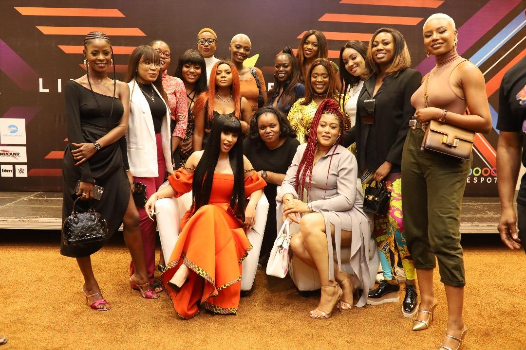 Cardi B gets lap dances, makes it rain in Nigerian strip club
