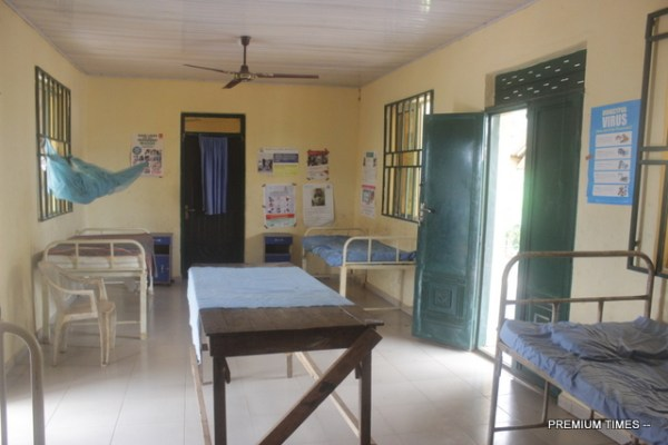 Healthcare centre at Ndiememe