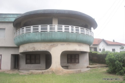 A rented apartment where the health centre is located