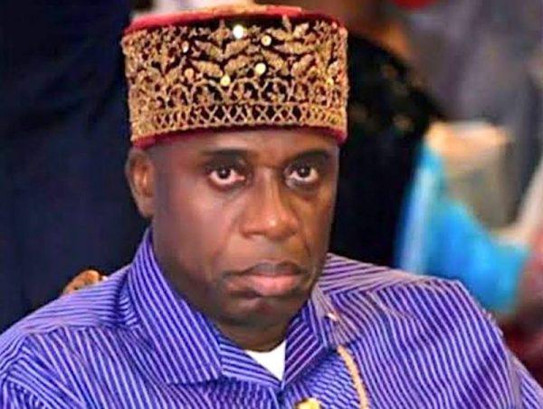 Minister of Transportation, Rotimi Amaechi.
