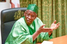 Abdullahi Ganduje, Governor of Kano State [PHOTO: Freedom Radio Nigeria]