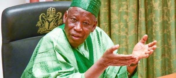 Abdullahi Ganduje, Governor of Kano State [PHOTO: Freedom Radio Nigeria]