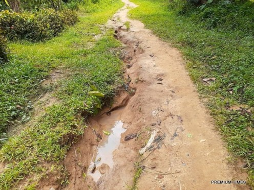 Contract for constructing Atan Okoyong rural roads was awarded in February 2015