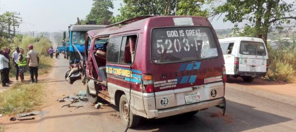 17 persons escape death in Anambra multiple crash