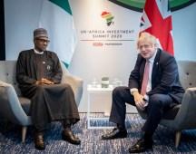 Muhammadu Buhari, Nigeria's President and Boris Johnson, Prime Minister of the United Kingdom [Photo: @borisjohnson]