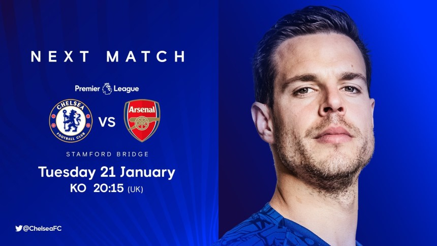 Chelsea vs Arsenal [Photo: Twitter @chelseafc]