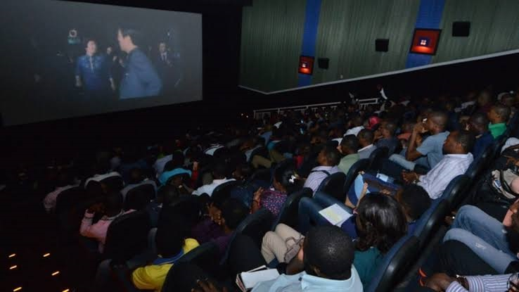 A cinema used to illustrate the story