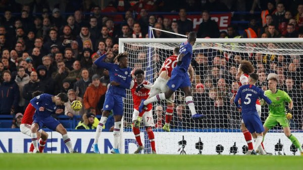 Chelsea's Andreas Christensen attempts a shot at goal (Photo Credit: Reuters on Google)