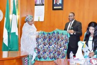 AISHA BUHARI UNVEILS CLOTHING LINE FOR PARA POWERLIFTING 2020 WORLD CUP