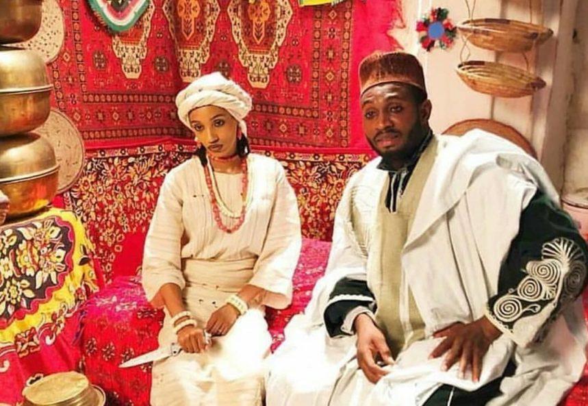 Di'ja and Sadiq Sani Sadiq in 'Mati A Zazzau'