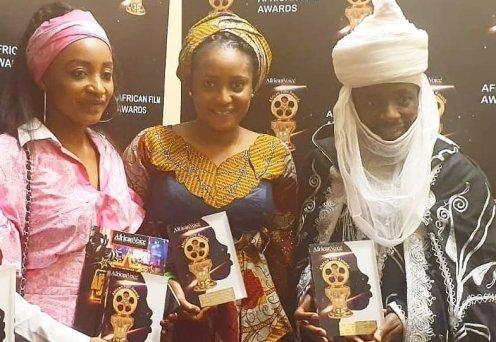 Fati Washa and Rahama Sadau Awards