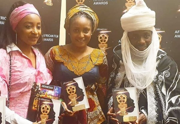Fati Washa and Rahama Sadau Awards