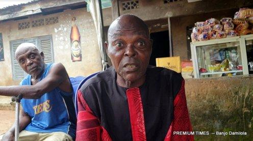 Mr Ebenezer Eyi, community leader at Assa