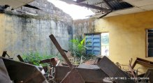 Dilapidated classroom at Mmahu Secondary school