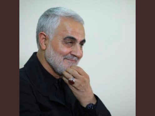 The Late Iranian general, Qassem Soleimani by America