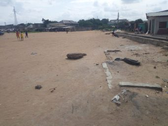 Oily - Football field
