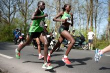 Philes Moora Ongori in Rotterdam Marathon