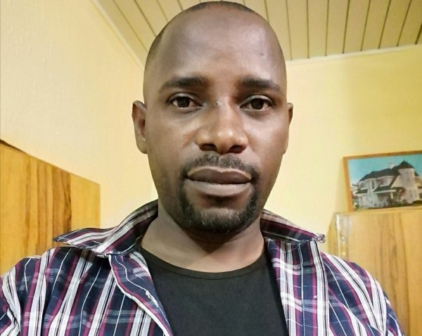 Haruna few hours after he was released by abductors