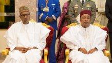 President Buhari and Niger President Issoufou.
