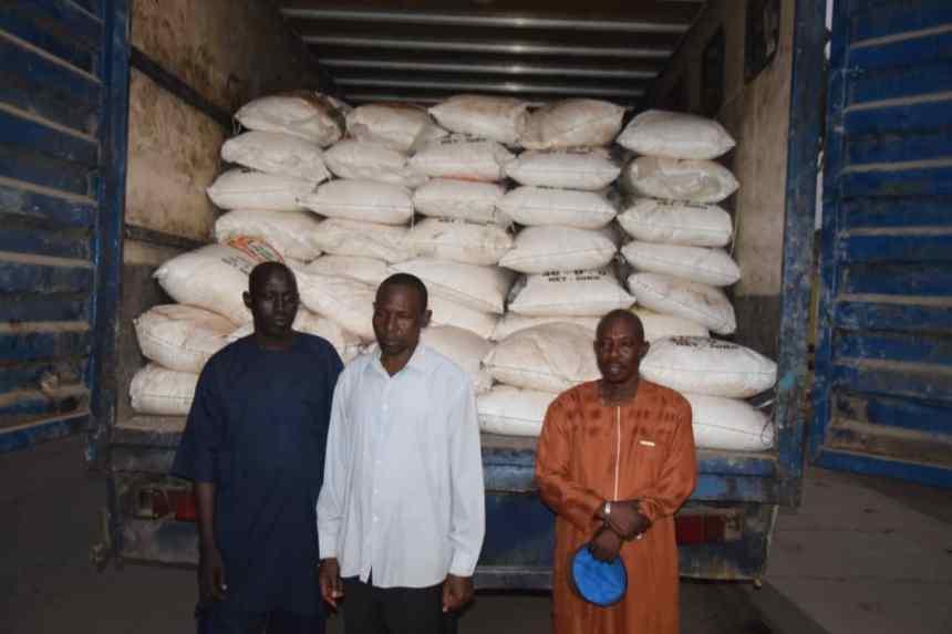 suspects arrested for 'stealing 300 bags of fertiliser