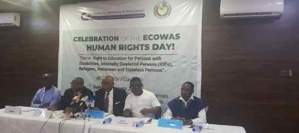 The discussion dominated the celebration of the ECOWAS Human Rights Day in Abuja on Thursday
