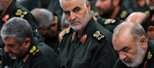 Qasem Soleimani, the leader of Iran's elite Quds Force unit. [PHOTO CREDIT: The Times]