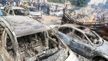 Aftermath of the Boko Haram attack on Auno