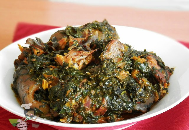 Afang soup [Photo: Nigerian Food TV]