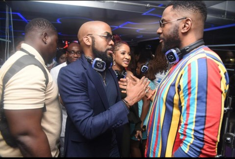 Banky W and Ebuka Obi-Uchendu (Photo credit: BellaNaija)