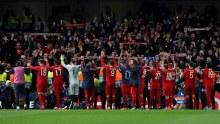 Bayern Munich celebrates