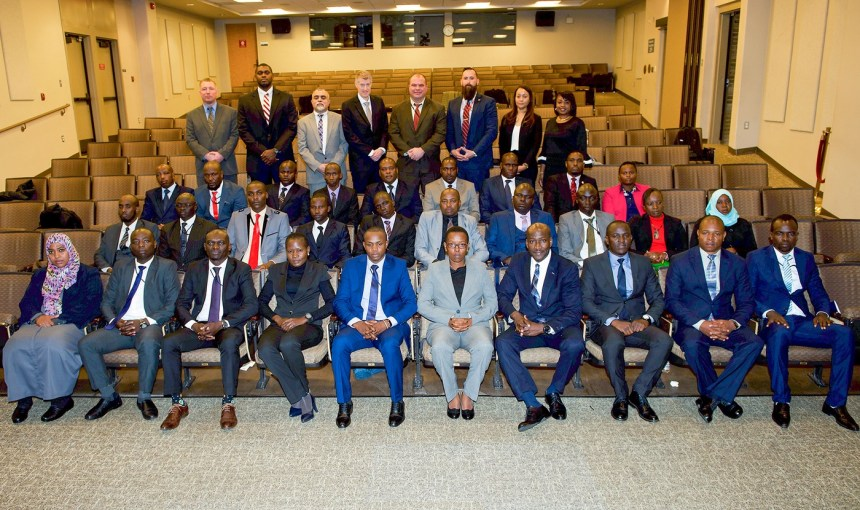 Kenyan police and intelligence officers are attending 12 weeks of counterterrorism training at the FBI Academy in Quantico, Virginia, in preparation for a new Joint Terrorism Task Force in Nairobi. [PHOTO CREDIT: Official website of the FBI]