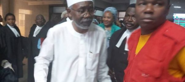 The EFCC on Monday, re-arraigned a former justice minister, Mohammed Adoke, before the Federal High Court in Abuja, on fresh money laundering charges.