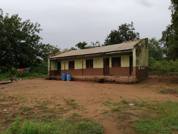 The only primary school in Odonigi. However, it is locked, due to lack of teachers.