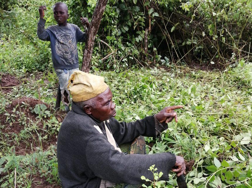 The Mogaji of Odonigi, narrating the lack of basic amenities in the community