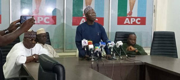 APC National Chairman, Adams Oshiomole