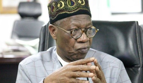Lai Mohammed (Photo Credit: Daily Trust)