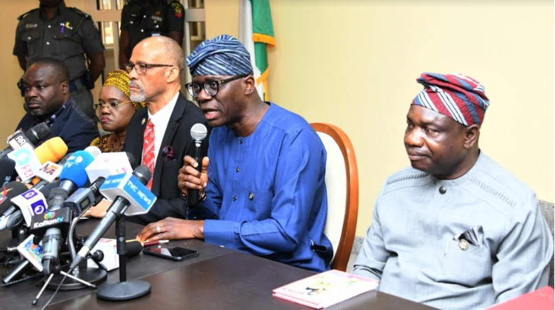Image result for images of We will ban public gatherings if cases escalate - Lagos State Gov. Sanwo-Olu