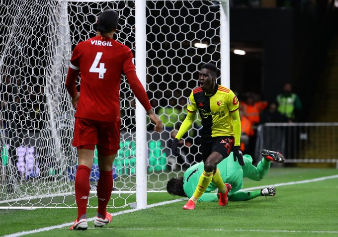 Watford-Win against Liverpool