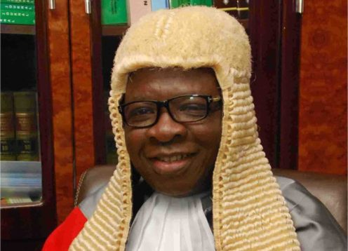 Justice Oyejide Falola. [PHOTO CREDIT: Official website of Osun State judiciary .. http://osunjudiciary.gov.ng/.]