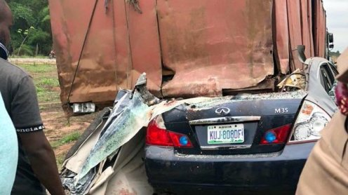 Car accident involving Enugu Rangers players
