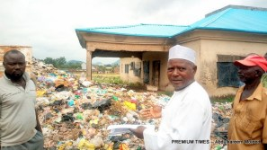 The Kapuwa Chief at the scene of the dump site