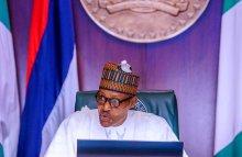 Nigeria President Muhammadu Buhari inaugurates an Advisory Committee of the Niger Delta Development Commission (NDDC)