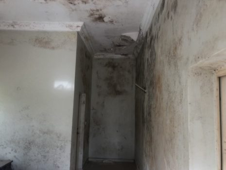 Some of the damages at Peace Corps office.