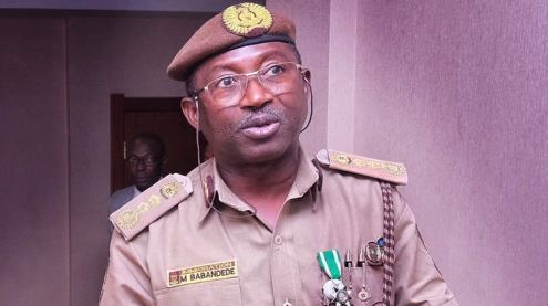 Comptroller-General of Nigeria Immigration Service, Mohammed Babandede [PHOTO: NIS]