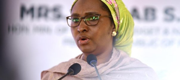 Minister of Finance Budget and National Planning in the Buhari administration, Zainab Ahmed [PHOTO CREDIT: @FinMinNigeria]