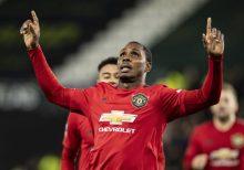 Odion Ighalo celebrates his goal [PHOTO: talkSPORT]