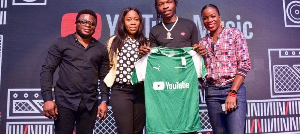 Naira Marley and YouTube officials