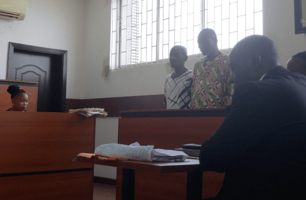 Olosande AND CO-DEFENDANT in court