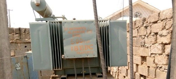 COMMUNITY PROJECTS: Supplied Transformer @ Alagbede, Ede