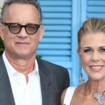 """Holed up in a Gold Coast hospital in Australia, Tom Hanks 63, said he and singer-songwriter partner Rita Wilson were taking the enforced isolation """"one-day-at-a-time"""" [RFI - AFP/File]"""